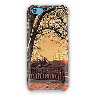 YuBingo Sunset on mountain Designer Mobile Case Back Cover for Apple iPhone 5C