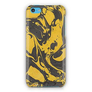 YuBingo Marble Finish (Plastic) Designer Mobile Case Back Cover for Apple iPhone 5C