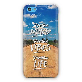 YuBingo Positive Mind Designer Mobile Case Back Cover for Apple iPhone 5C