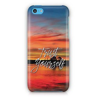 YuBingo Trust Yourself Designer Mobile Case Back Cover for Apple iPhone 5C