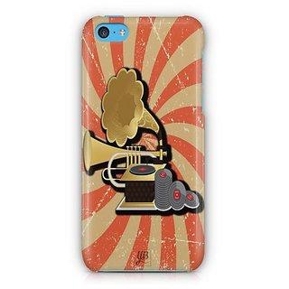 YuBingo Vintage Gramophone Designer Mobile Case Back Cover for Apple iPhone 5C