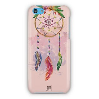 YuBingo Beautiful Feather Wall Art Designer Mobile Case Back Cover for Apple iPhone 5C