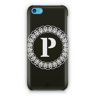 YuBingo Monogram with Beautifully Written letter P Designer Mobile Case Back Cover for Apple iPhone 5C