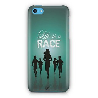 YuBingo Life is a Race Designer Mobile Case Back Cover for Apple iPhone 5C