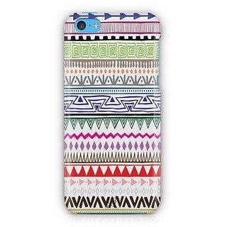 YuBingo Zig Zag Pattern Designer Mobile Case Back Cover for Apple iPhone 5C
