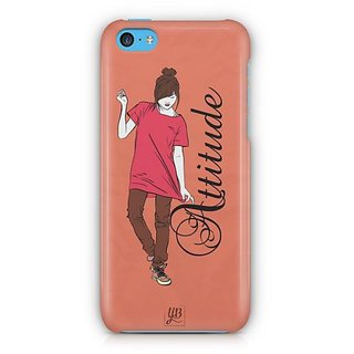 YuBingo Girl with an Smart Attitude Designer Mobile Case Back Cover for Apple iPhone 5C
