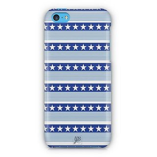 YuBingo Stars and Stripes Designer Mobile Case Back Cover for Apple iPhone 5C