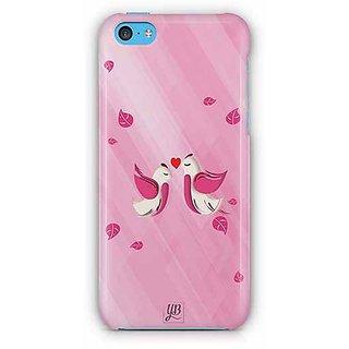 YuBingo Love Birds Designer Mobile Case Back Cover for Apple iPhone 5C