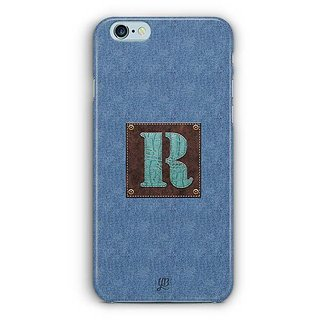 YuBingo Monogram with Beautifully Written Jeans and Macho Male Leather Finish letter R Designer Mobile Case Back Cover for Apple iPhone 6 / 6S