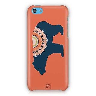 YuBingo Designer Bear Designer Mobile Case Back Cover for Apple iPhone 5C