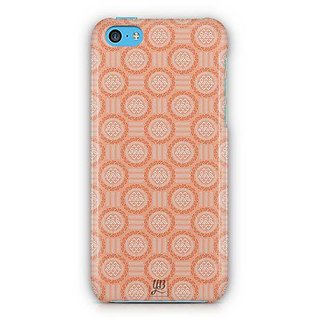 YuBingo Orange circles Designer Mobile Case Back Cover for Apple iPhone 5C