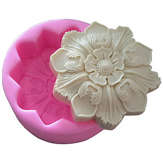 Futaba Lovely Retro Big Flower Silicone Mould