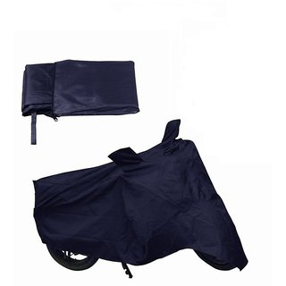 Bike Cover For TVS Heavy Duty Super XL (Blue).
