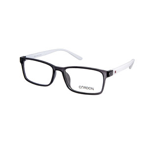 Cardon Black Full Rim Rectangular  EyeFrame