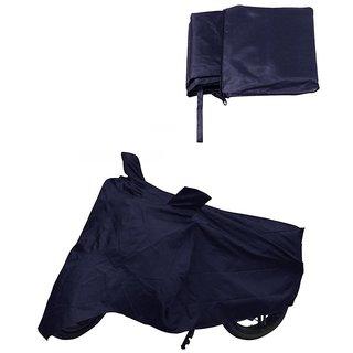 Bike Cover For Suzuki Hayate (Blue).