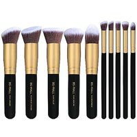 BS-MALL(TM) Premium Synthetic Kabuki Makeup Brush Set Cosmetics Foundation Blending Blush Eyeliner Face Powder Brush Mak