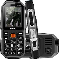 Mido M11+ 1200 mAh Long Battery,SOS 1.8 Inch Dual Sim Feature Phone With Unique look