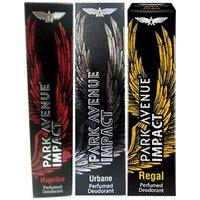 Park Avenue Impact Magnifico,Urbane,Regal Prefumed Deodorants Pack Of 3 For Men Combo Set (Set Of 3)