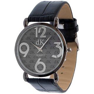 Analogue Black Dial DK Wrist Watch for Men