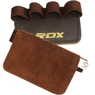 Rdx Gym Leather Grippi New Brown