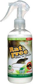 Herbo Pest Herbal RatFree Repellent Spray - 300 ML