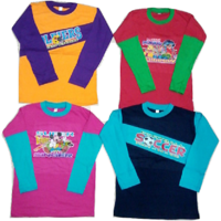 Kids Cotton Tshirt Pack of 4 (0-6 yrs)