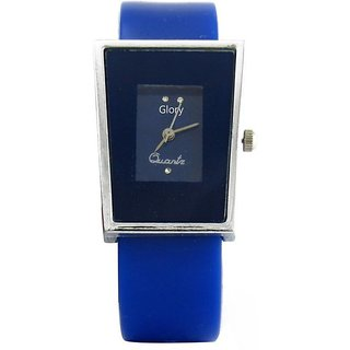 5Star Glory Blue Sqver Analog Watch - For Girls,Women And Leadish
