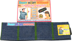 Smart Height increaser natural magnetic height increaser belt with Carry Bag  Box
