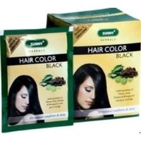 Baksons Sunny Herbals Hair Color Black - Box Of 12