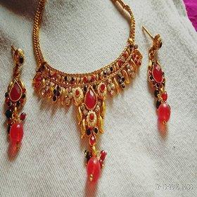 PURPLE STO designer necklace