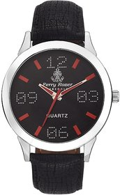 Ferry Rozer Black Dial Analog Watch For Men - FR1081