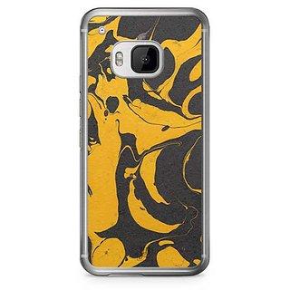 YuBingo Marble Finish (Plastic) Designer Mobile Case Back Cover for HTC One M9