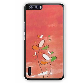 YuBingo Beauty of Flowers Designer Mobile Case Back Cover for Huawei Honor 6 Plus