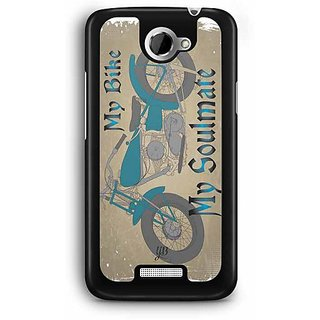 YuBingo My Bike My Soulmate Designer Mobile Case Back Cover for HTC One X