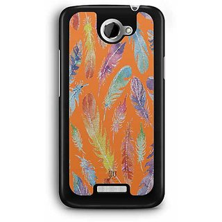 YuBingo Feathers Designer Mobile Case Back Cover for HTC One X