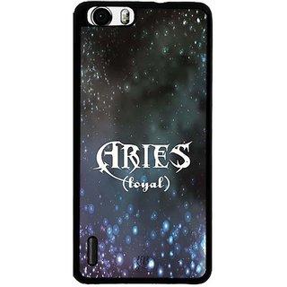 YuBingo Aries (Loyal) Designer Mobile Case Back Cover for Huawei Honor 6