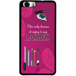 YuBingo The only Drama to Enjoy is My Lashes Designer Mobile Case Back Cover for Huawei Honor 6