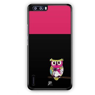 YuBingo Lovely Owl Designer Mobile Case Back Cover for Huawei Honor 6 Plus