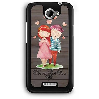 YuBingo Never Let You Go Designer Mobile Case Back Cover for HTC One X
