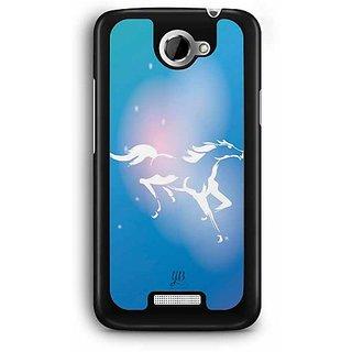 YuBingo The White Horse Designer Mobile Case Back Cover for HTC One X