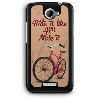 YuBingo Ride it like if you Stole It Designer Mobile Case Back Cover for HTC One X