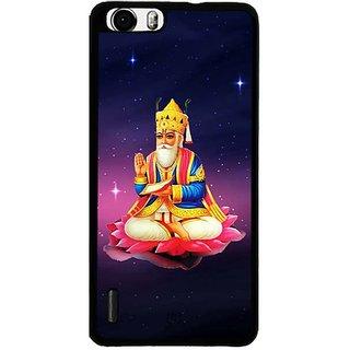 YuBingo Jhule Lal Ji Designer Mobile Case Back Cover for Huawei Honor 6