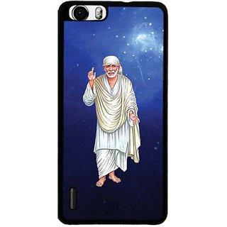 YuBingo Sai Baba Designer Mobile Case Back Cover for Huawei Honor 6