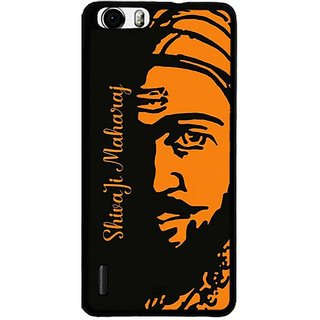 YuBingo Shivaji Maharaj Designer Mobile Case Back Cover for Huawei Honor 6