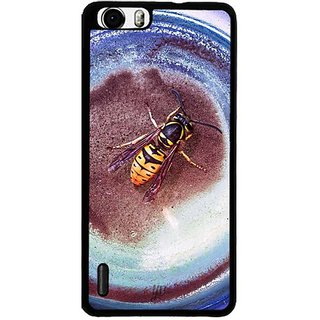 YuBingo Fly on plate Designer Mobile Case Back Cover for Huawei Honor 6