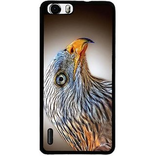 YuBingo Beautiful Bird with Yellow Beak Designer Mobile Case Back Cover for Huawei Honor 6