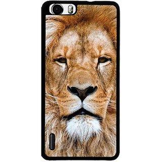 YuBingo Portrait of Lion Designer Mobile Case Back Cover for Huawei Honor 6