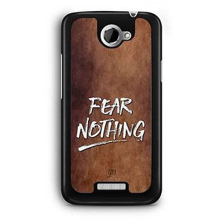 YuBingo Fear Nothing Designer Mobile Case Back Cover for HTC One X
