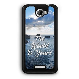 YuBingo The World is Yours Designer Mobile Case Back Cover for HTC One X