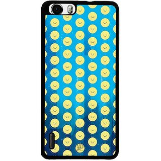 YuBingo Smileys Designer Mobile Case Back Cover for Huawei Honor 6